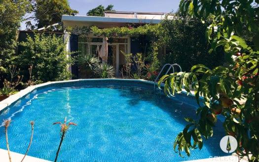 Fortia-Ferienhaus-Pool